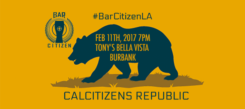 BARCITIZEN LA FEBRUARY 11, 2017 TONY'S BELLA VISTA IN BURBANK CALIFORNIA