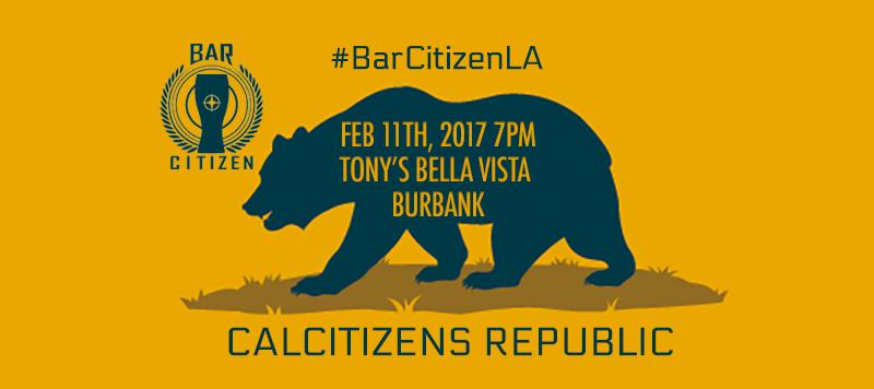 BARCITIZEN LA FEBRUARY 11, 2017 TONY'S BELLA VISTA IN BURBANK CALIFORNIA