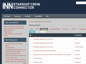 Starship Crew Connector screenshot