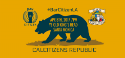 Bar Citizen LA on April 8th, 2017 at ye Old King's Head in Santa Monica, California