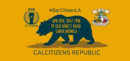 Bar Citizen LA on April 8th, 2017 at ye Old King's Head in Santa Monica, California