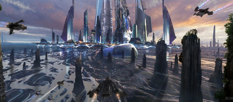 An image of the city Saisei in Centauri