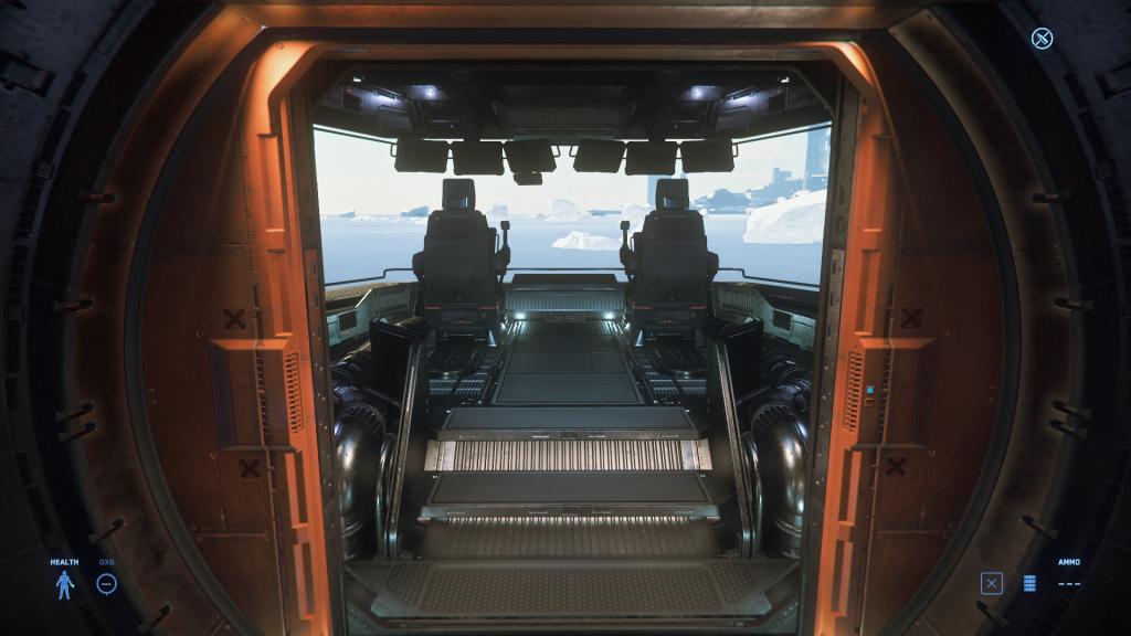 Argo Mole Cockpit